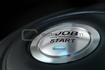 job start button