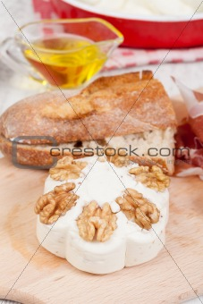 cheese with walnuts