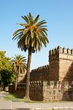 Seville ancient city walls