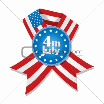 4th of July badge