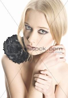 Beauty fashion women portrait