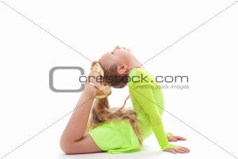 Girl-acrobat