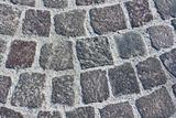 Block pavement of ancient street