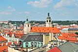 Prague. Top-view of the Old Town