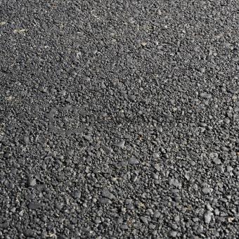 Fresh asphalt road