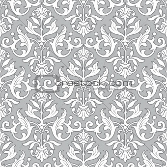 Classic Floral Pattern Seamless