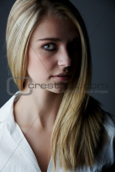 Young adult caucasian woman