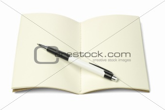 Thread Sew Book and Ball Point Pen