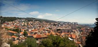 Cityscape of Sibenik, Croatia