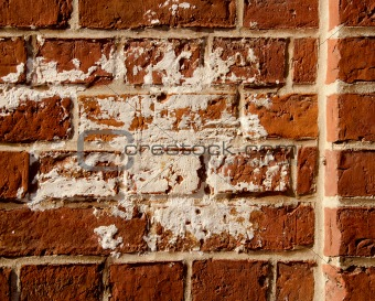 old red bricks wall background
