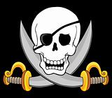 Pirate skull theme 3