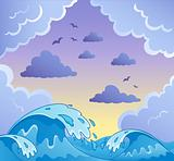 Waves theme image 2