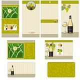 White wine stationary