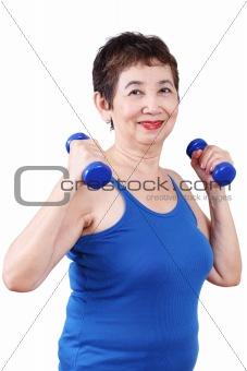 Healthy Senior Woman