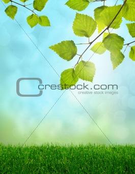 Green spring fantasy