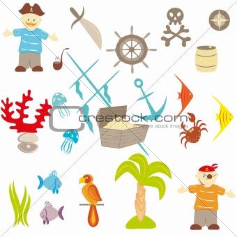 Piracy set