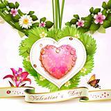 Valentine' s Day card