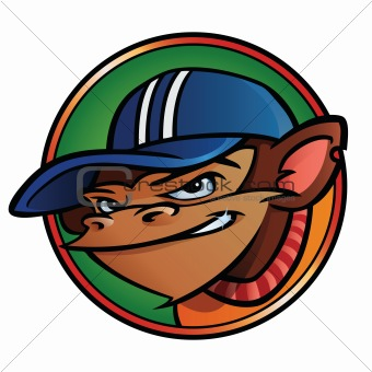 Cool Monkey with Cap