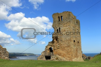 Scarborough Castle ruins
