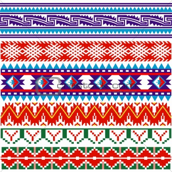 Some ancient american pattern
