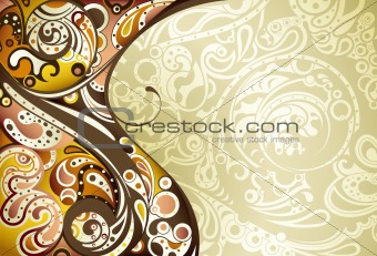Abstract Brown Curve