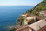 Italy. Cinque Terre. Village of Riomaggiore