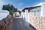 Narrow street, Panarea island