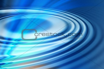 Blue Water Ripples Background