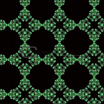 Seamless Green Abstract Wallpaper Pattern