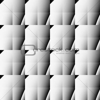 Grey seamless foursquare background.