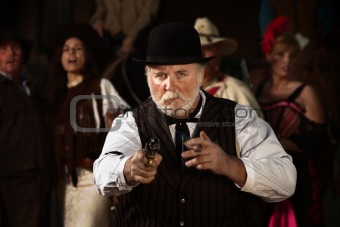American West Bad Man