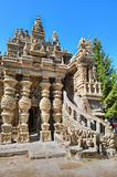 Palais Ideal du Facteur Cheval - inspired by Hindu architecture?