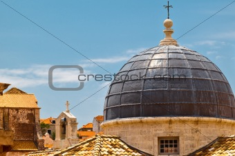 Dome of the Church in Dubrovnik, Croatia