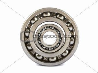 Two ball bearings