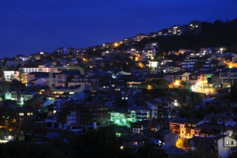 Veliko Tarnovo at Night