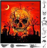 Halloween background illustration