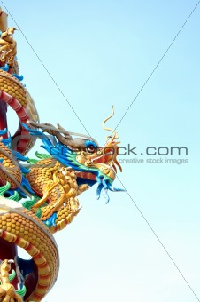 the dragon statue