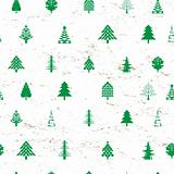 abstract christmas tree pattern