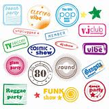 club music stamps