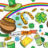 saint patrick&#39;s day pattern