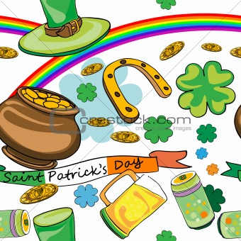 saint patrick's day pattern