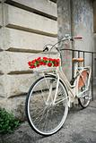Flowered bike in Italy