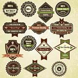 Vintage labels