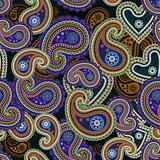 Seamless paisley pattern