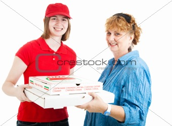 Fresh Hot Pizza Delivered