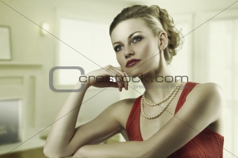 the alluring fashion woman