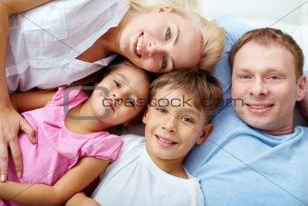 Resting family