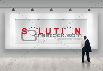 Business solutions advertisement