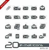 E-mail Icons // Basics