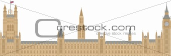 Palace of Westminster Illustration